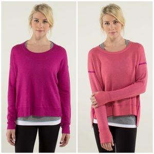 CASHMERE Lululemon REVERSIBLE Pure Balance Sweater